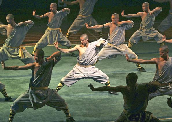 Chineses do Kung Fu e o Samurai Japonês