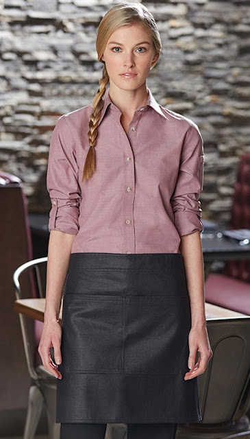 7f901983 Chambray Shirt and Waxed Denim Apron - The new Urban style! Chambray Server  Shirts ...