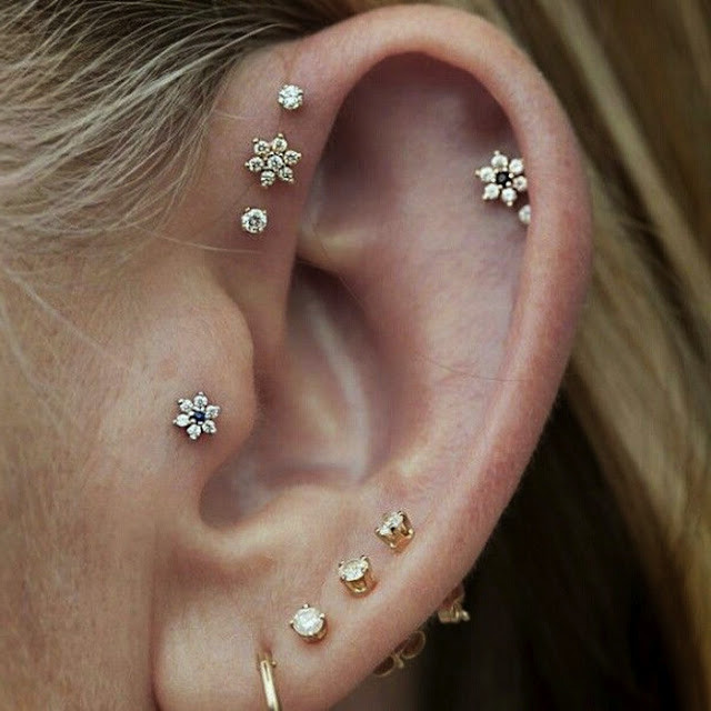 Awesome Ear Piercings For Women