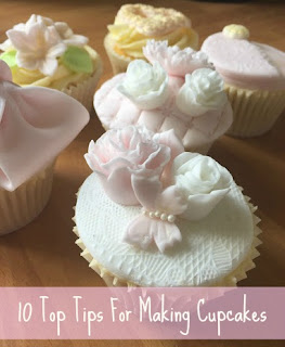10 top tips for making cupcakes