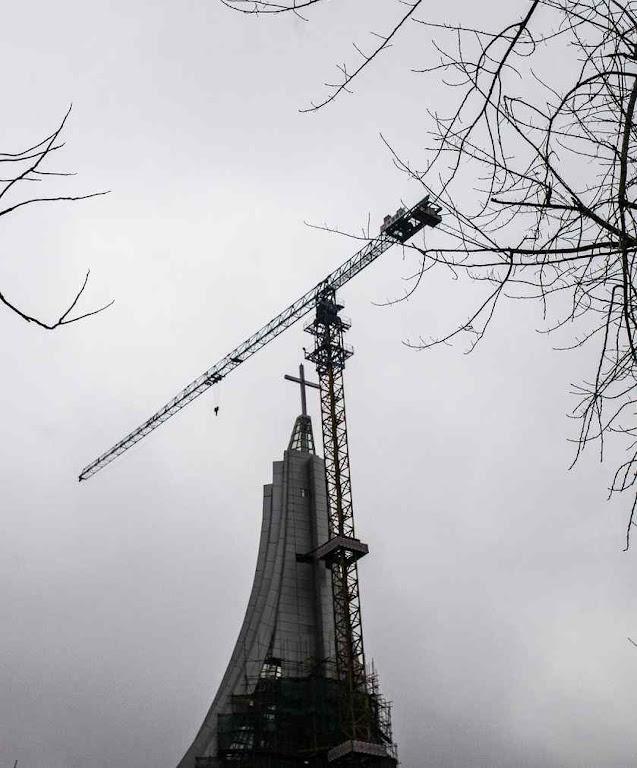 A cruz da igreja de Changsha vai ser a mais alta da China.