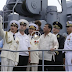 WATCH: Pagbisita ni Pangulong Rody Duterte sa Russian Large Anti Submarine Ship Admiral Tributs