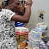 Photos: Efe visits IDP camp in Abuja...Donates Relief Material