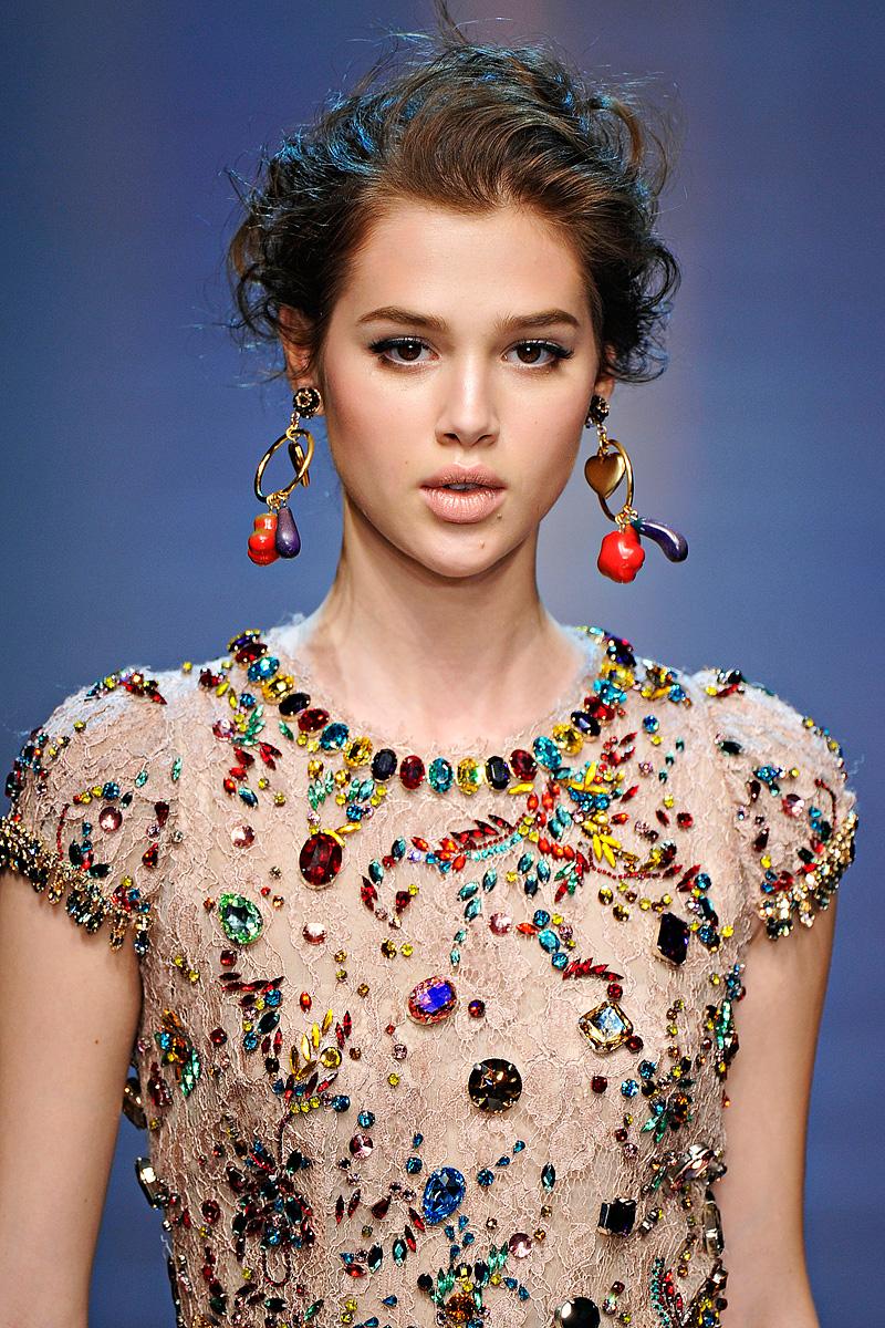 Dolce Gabbana A W 2013 14: MAIA DAVITASHVILI: DOLCE & GABBANA Spring 2012 Is Stunning
