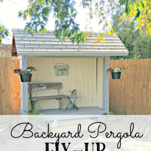 Backyard Pergola Fix-Up - Weekend Yard Work Series