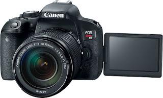 Preview Spesifikasi dan Harga Camera Canon EOS Rebel T7i (EOS 800D)