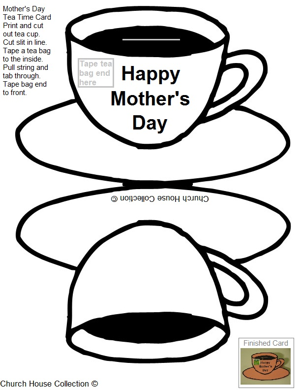 Church House Collection Blog: Printable Mother's Day Tea