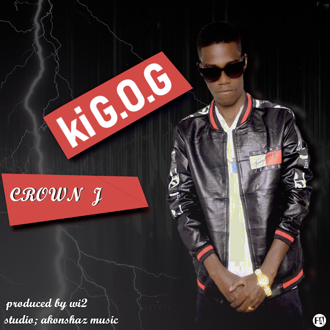 CROWN JAY - KI G.O.G (OFFICIAL MUSIC AUDIO) | DOWNLOAD MP3