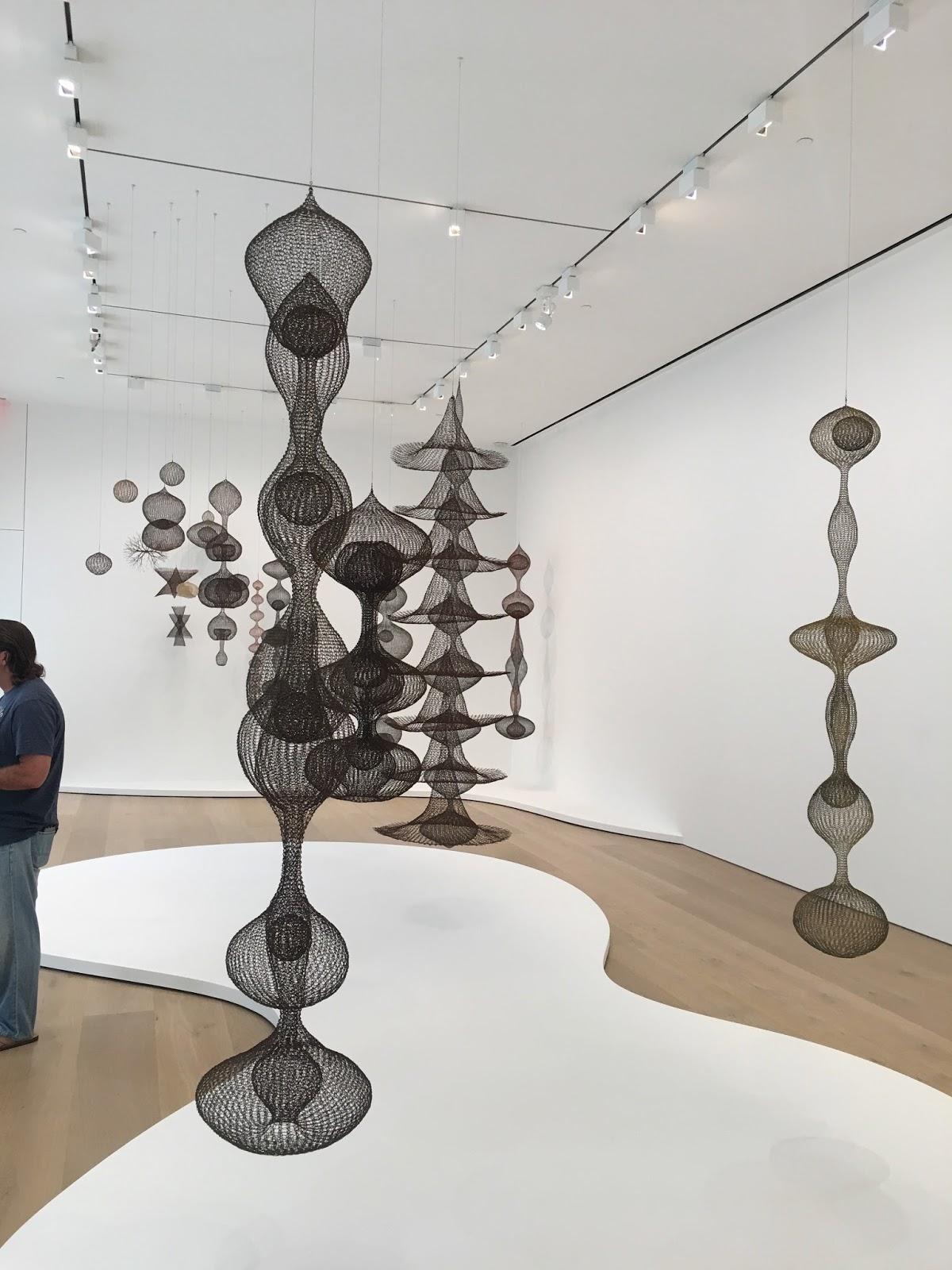 Contemporary Basketry: Ruth Asawa at David Zwirner