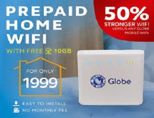 Globe Prepaid Home Wifi Load Promos