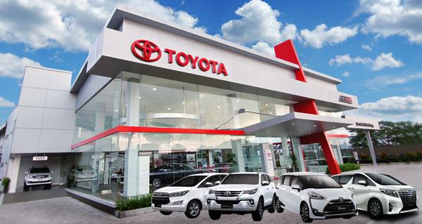 Dealer Toyota Auto 2000 Wiyung Surabaya