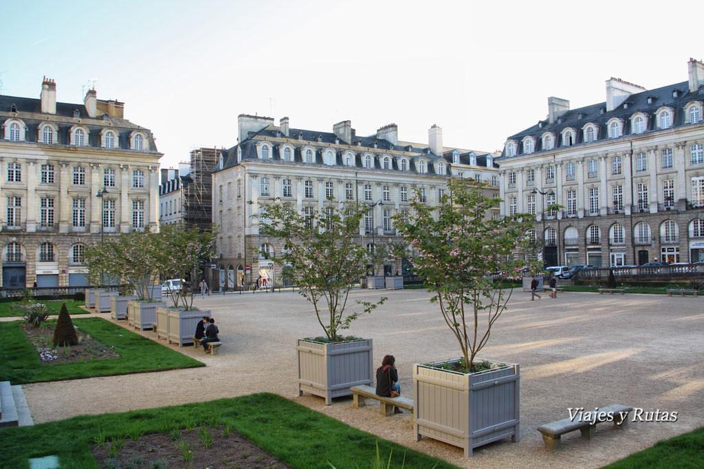 Palacio del Parlamento de Bretaña,Rennes