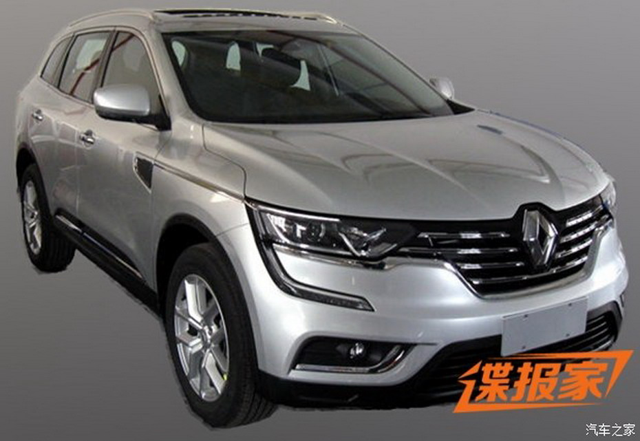 new 2017 renault koleos suv this is it carscoops. Black Bedroom Furniture Sets. Home Design Ideas