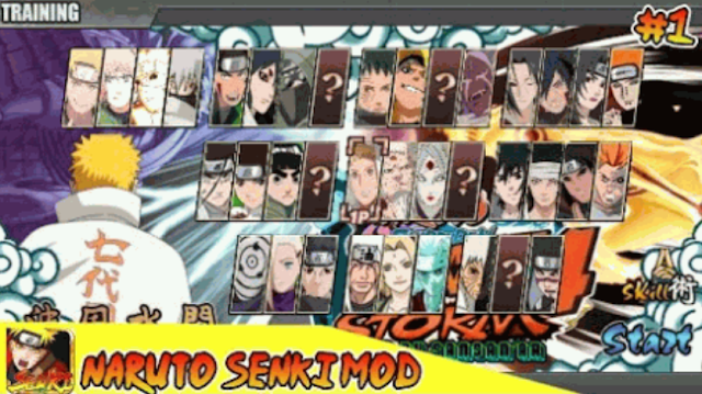 12 Game Naruto Senki Mod Apk Terbaru Full Character Jutsu 2019 For Android