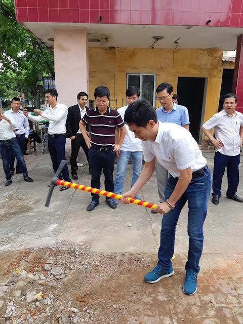 Lễ động thổ dự án Aqua Park Bắc Giang