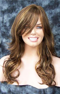 22 Inch Capless Wavy Synthetic Hair