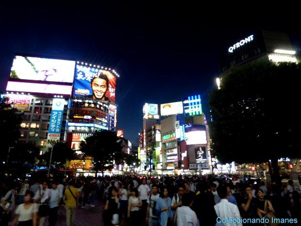 Salida de la yamanote en Shibuya