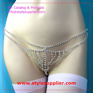 lingerie crystal