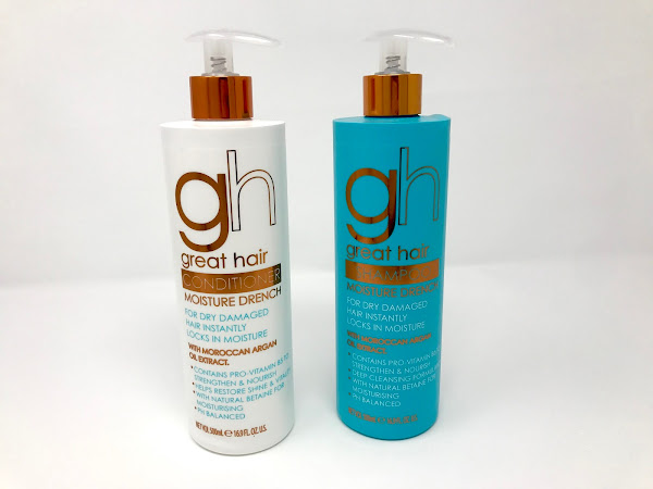 Review: Great Hair with Argan Oil Extract Moisture Drench Shampoo and Conditioner