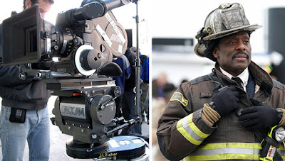 Acting gig on the set of Chicago Fire for Black men