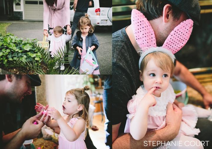 family easter photos