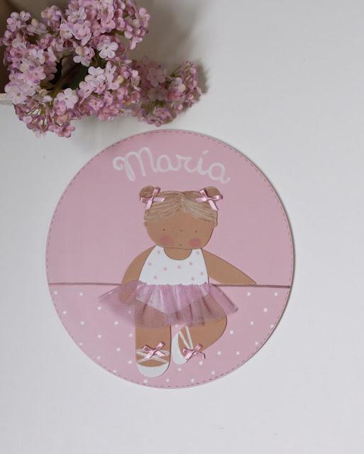 placa puerta infantil personalizada decoración habitaciones infantiles