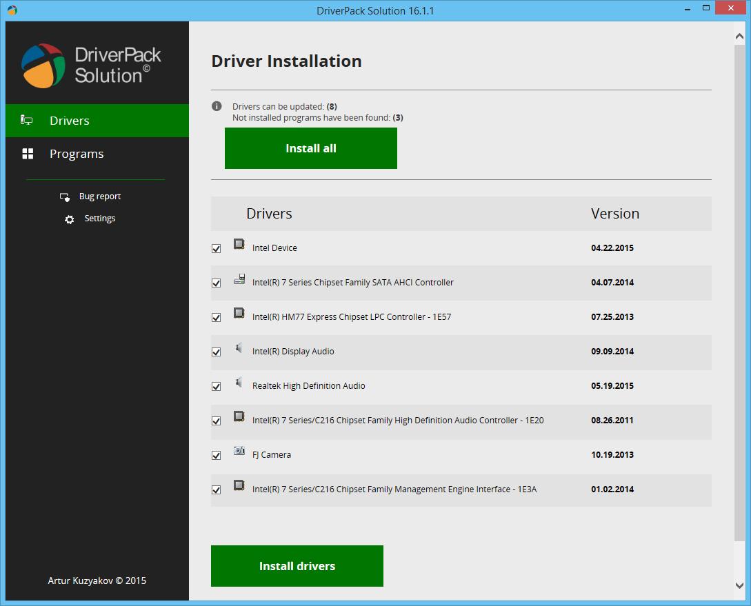 تحميل أفضل برنامج لتعريف اى جهاز بدون نت Driverpack Solution