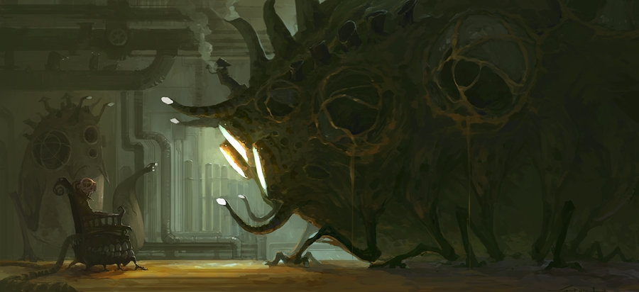 05-Big-Monster-ZERG118-Dreams-Made-of-Fantasy-Worlds-and-Creature-Illustrations-www-designstack-co