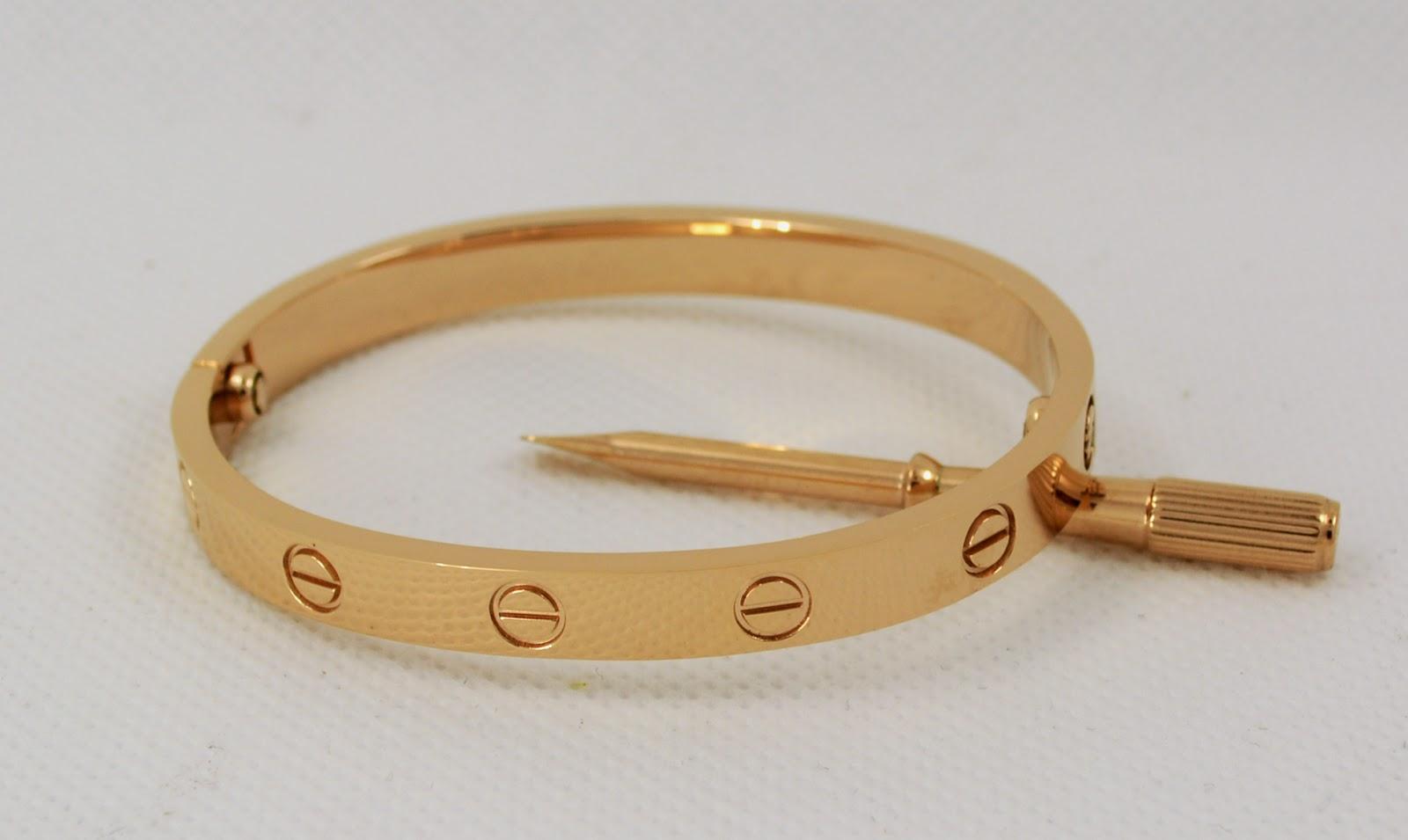 Superior Quality Cartier love bangle replica - Fashion