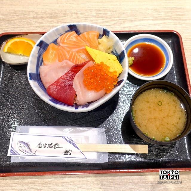 【丼辰】平價美味海鮮丼 便宜的三色丼也有超豐富配料