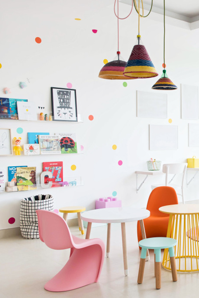 little study corner for children - styling Liveloudgirl