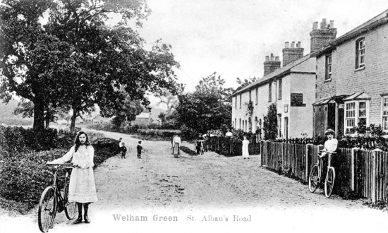 Photograph of Welham Green St. Alban's Road