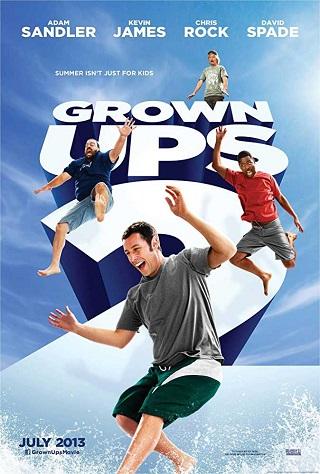 Grown Ups 2 (2013) Dual Audio Hindi 350MB BluRay 480p