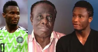 I Only Saw Him on Television , He Hasn't Communicate with me in Last Five years - Mikel obi father cries out!!!