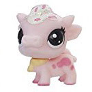 Littlest Pet Shop Series 2 Teensie Special Collection Buttermilk Cowbell (#2-35) Pet