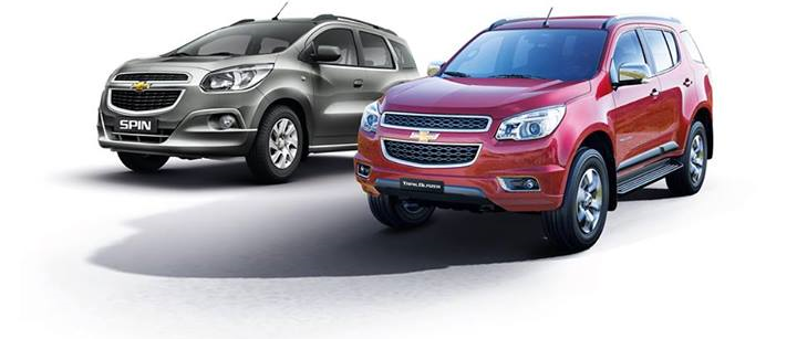 Chevrolet Spin and Trailblazer