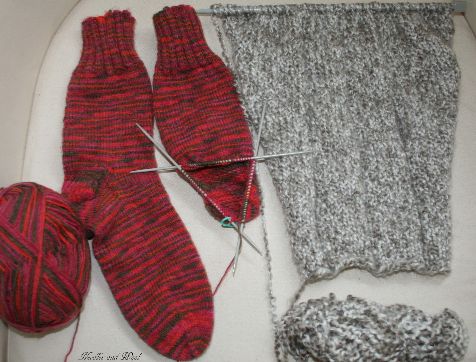 Knitting Increases For Sleeves : Needles and wool a recipe to share knitting project