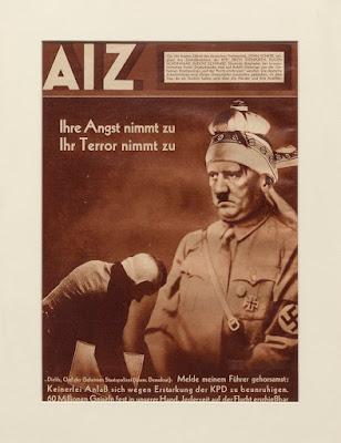 Magazine communiste allemand AIZ des annees 1920-30