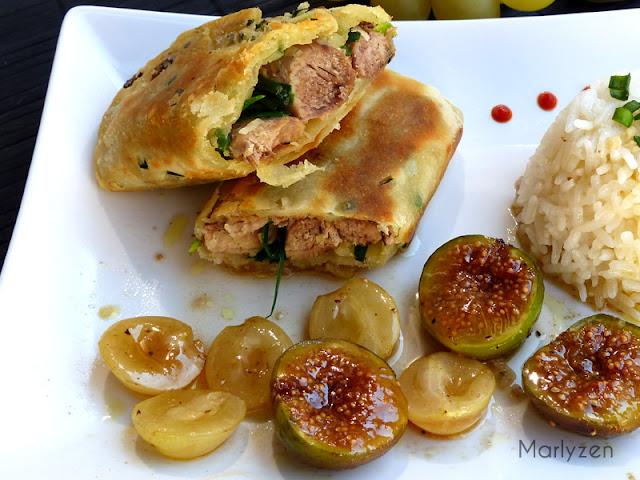Canard croustillant mi-figue mi-raisin