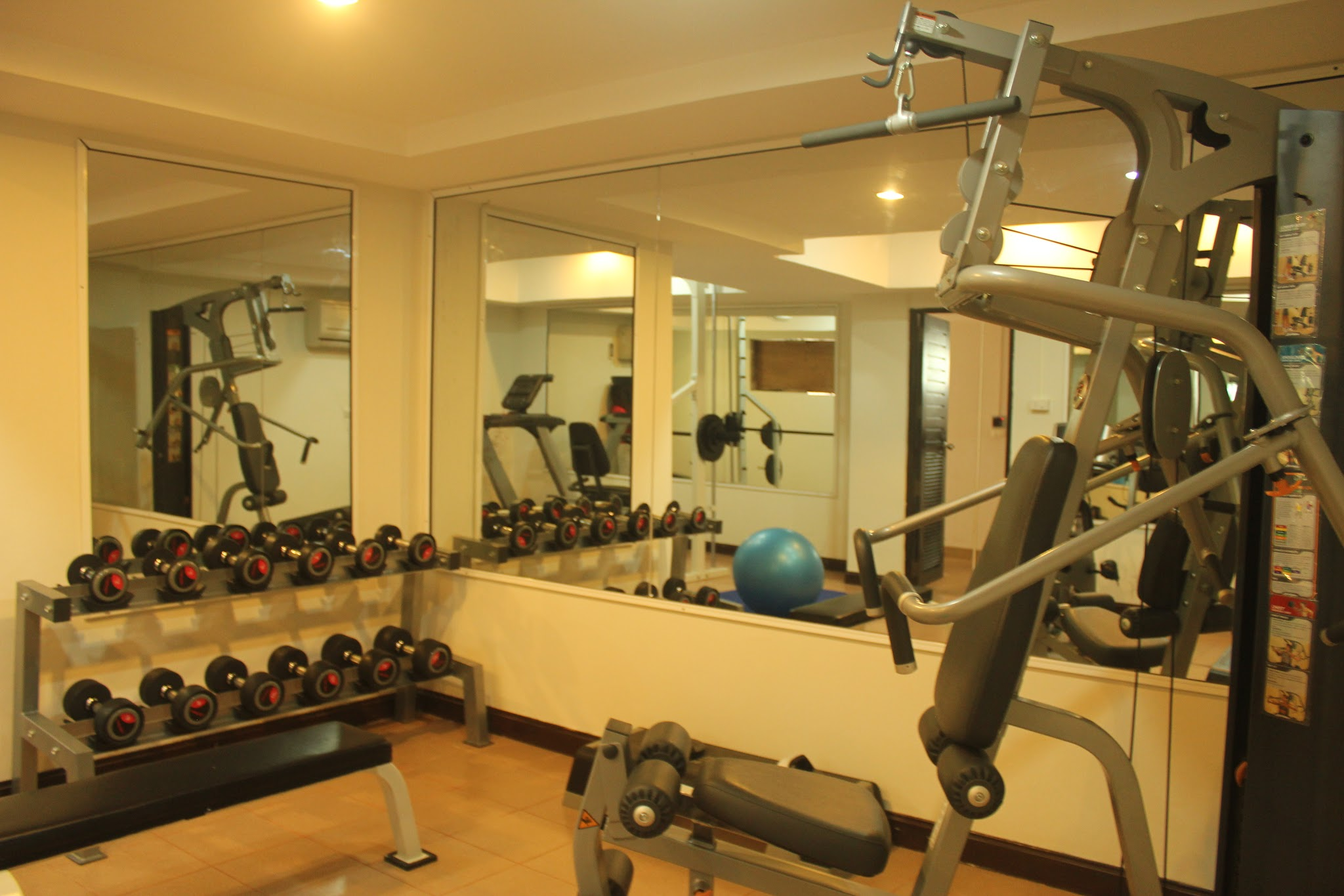 Patong Harbor View Gym and Fitness Area