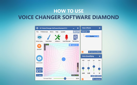 How to use Voice Changer Software Diamond