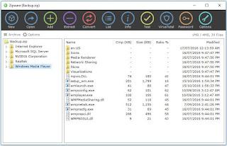 البديل, المجانى, لبرنامج, وين, رار, والتعامل, مع, الملفات, المضغوطة, Zipware