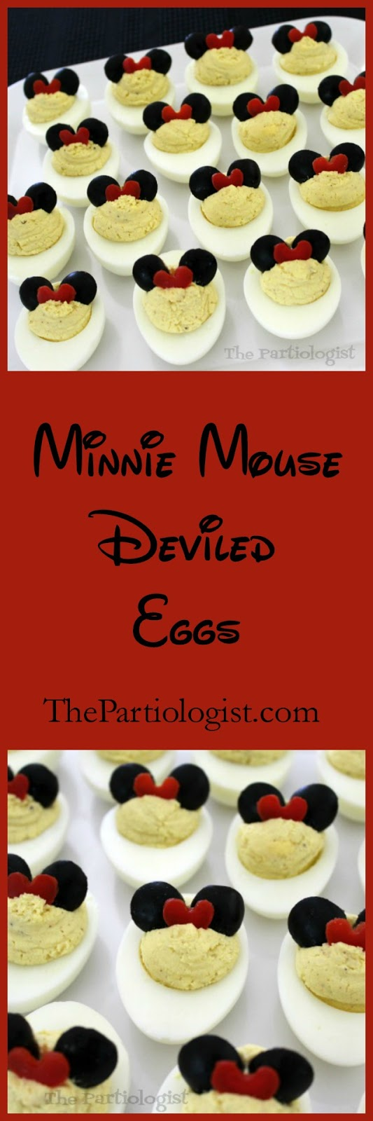 easy minnie mouse deviled eggs