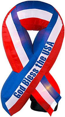 Enter the Standard Concession Supply 6 Ft. Patriotic Inflatable Ribbon Labor Day Giveaway. Ends 8/25