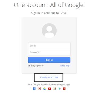 membuat Akun Email Gmail Layanan Google