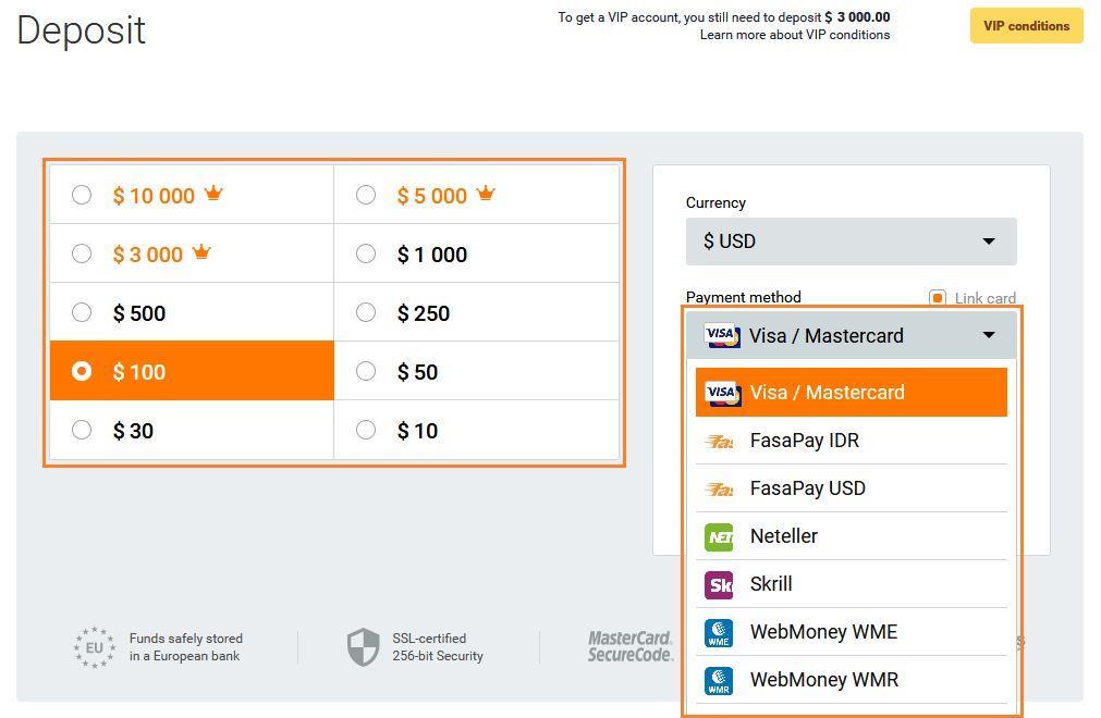 Forex deposit dengan paypal