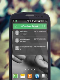 تطبيق Number Book لكشف اسماء المتصلين من اي دولة منعا للازعاج للاندرويد