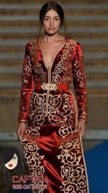 Caftan / le style caftan marocain élégance pour 2017