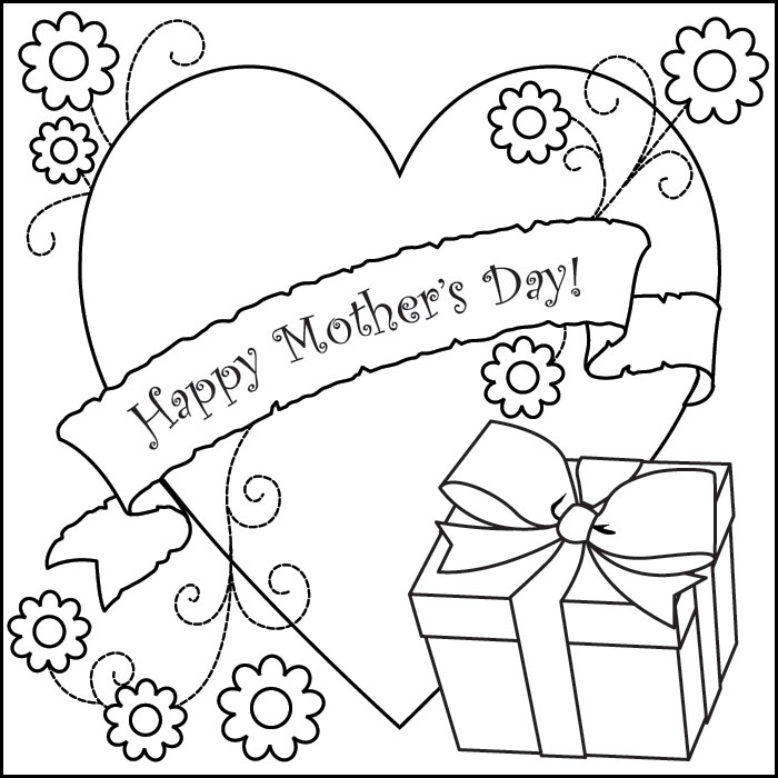 Happy mother 39 s day coloring pages picture for Happy mothers day coloring page
