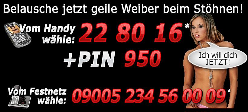 Telefonsex Stöhnen Rufnummer